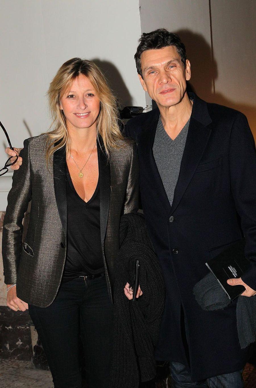 Marc Lavoine et SarahPoniatowski en 2013.