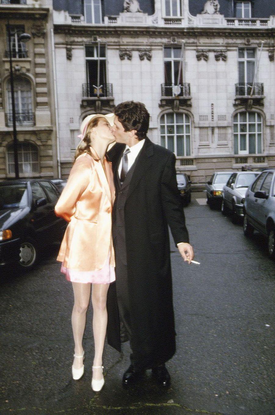 Marc Lavoine et SarahPoniatowski, leur histoire d'amour en images.