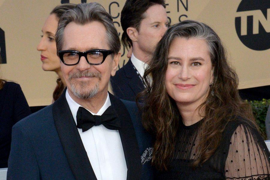 Gary Oldman et son épouseGisele Schmidt