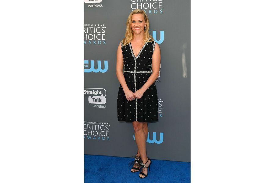 Reese Witherspoon dans une robe Prada