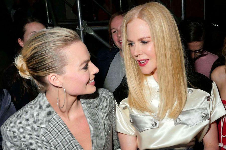 Margot Robbie, Nicole Kidman au défilé Calvin Klein