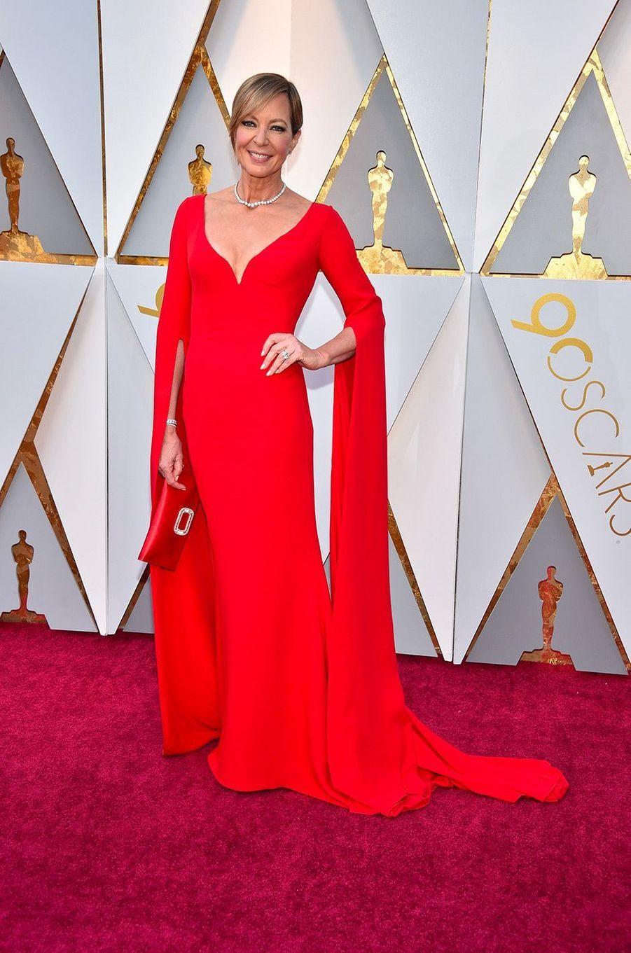 Allison Janney dans une robe Reem Acra