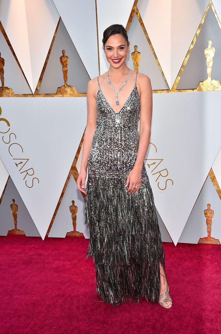 Gal Gadot dans une robe Givenchy