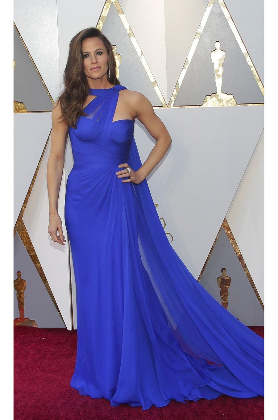 Jennifer Garner dans une robe Atelier Versace