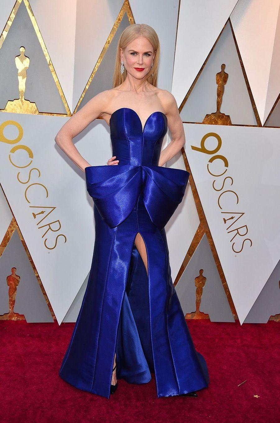 Nicole Kidman dans une robe Armani Privé
