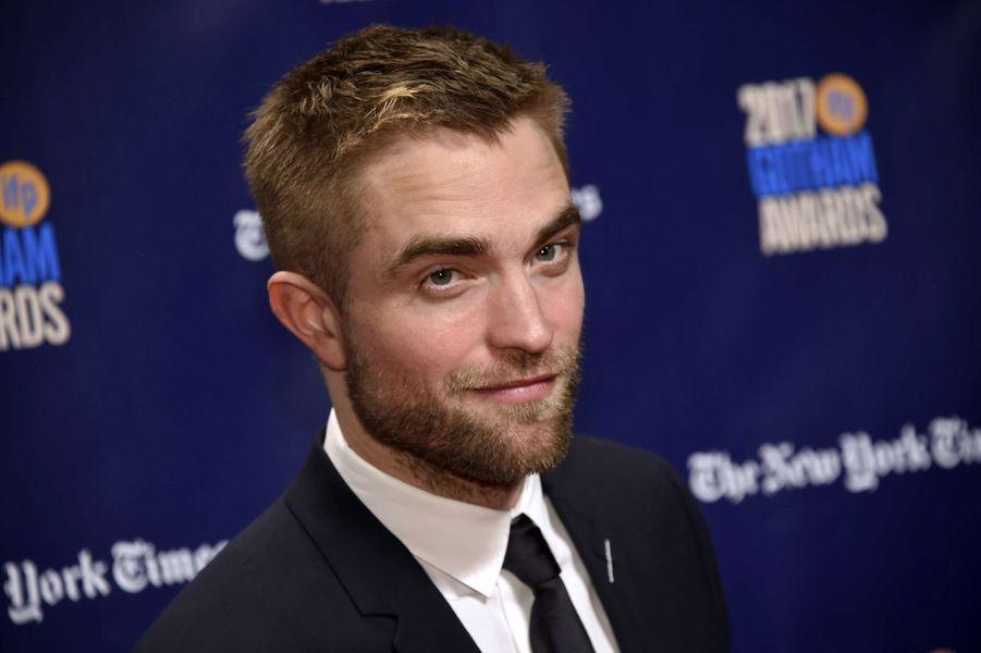 Robert Pattinsonà la soirée des Gotham Awards, à New York le 27 novembre 2017.