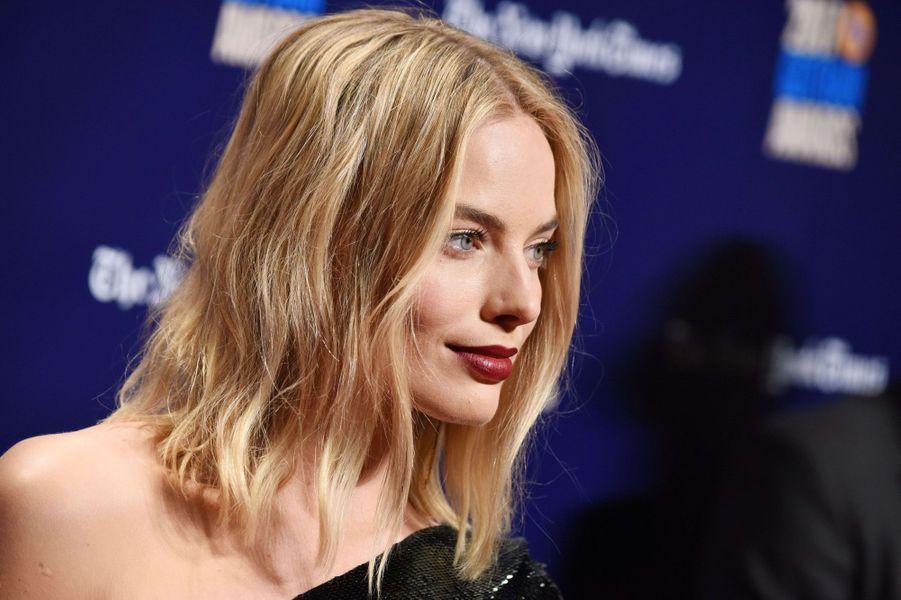 Margot Robbieà la soirée des Gotham Awards, à New York le 27 novembre 2017.