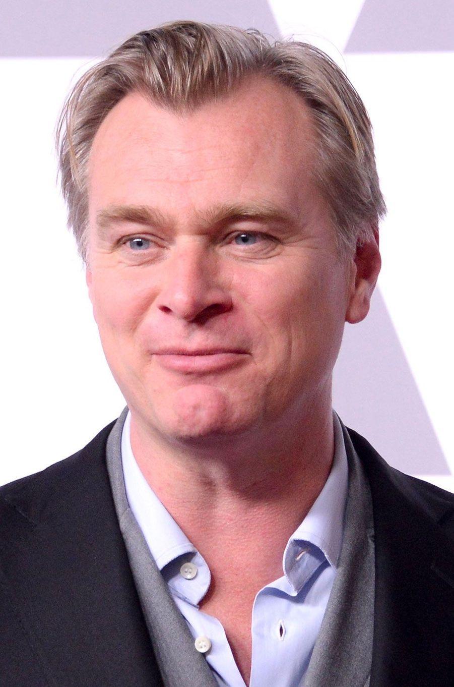 Christopher Nolan au déjeuner des nommés aux Oscars, le 5 février 2018