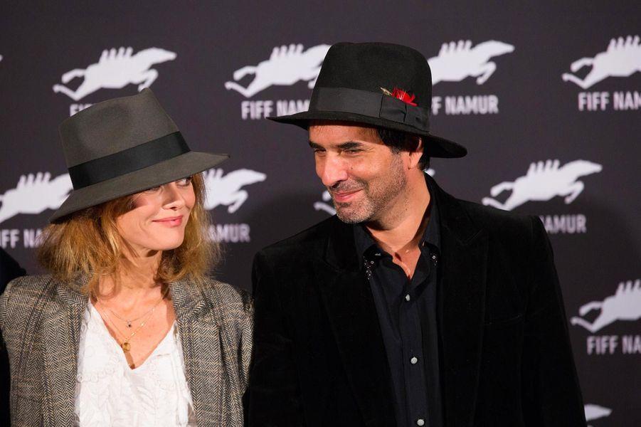 Vanessa Paradis et Samuel Benchetrit en octobre 2017.