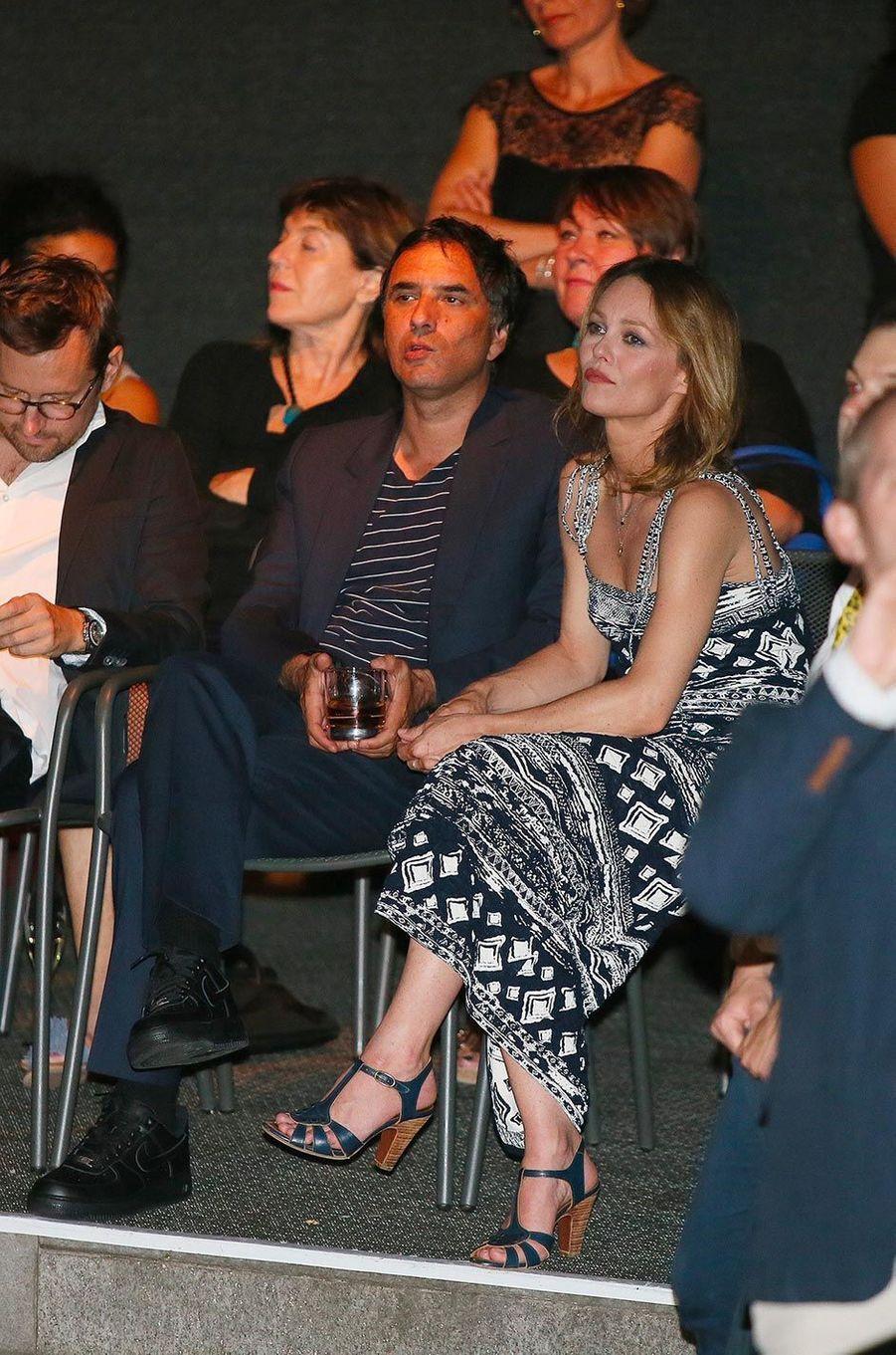 Vanessa Paradis et Samuel Benchetrit en août 2017.