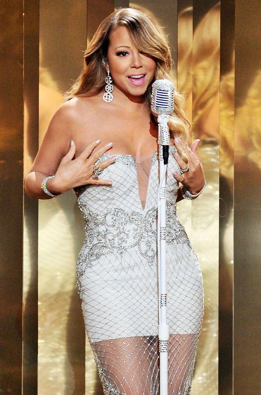 Mariah Carey aux BET Awards à Los Angeles le 30 juin 2013