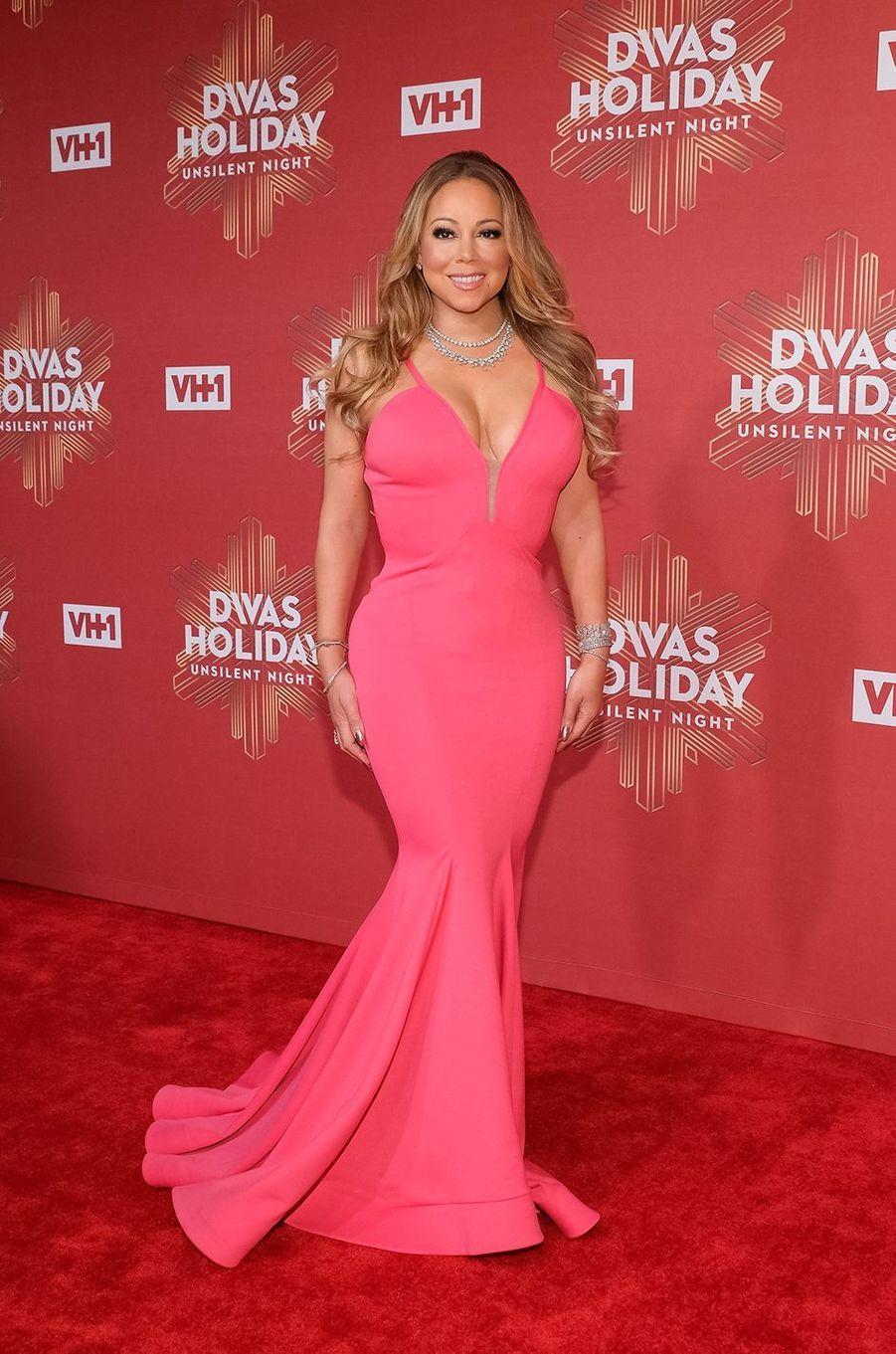 Mariah Carey à la soirée «VH1's Divas Holiday» à New York le 2 décembre 2016