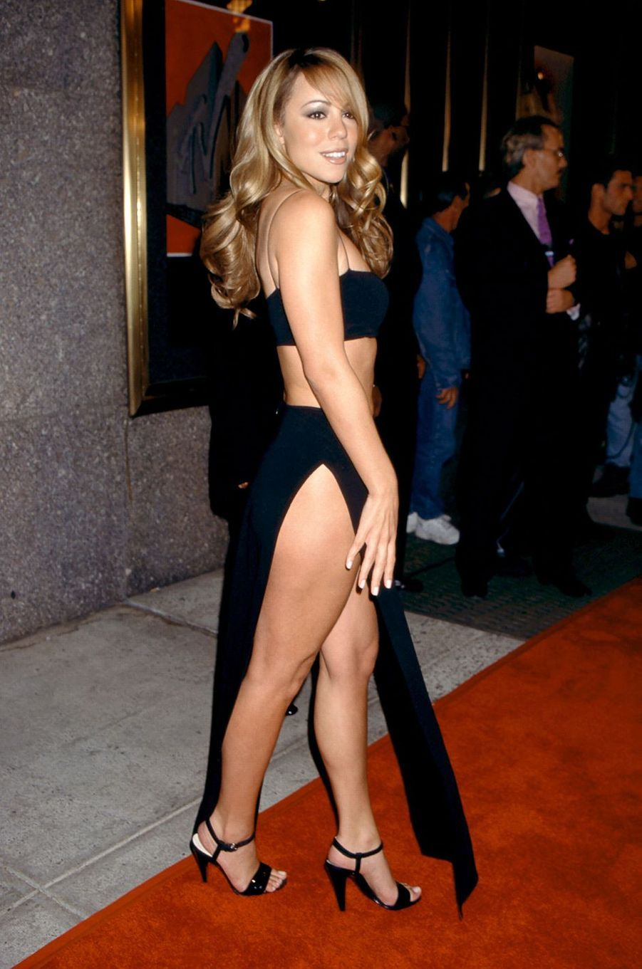 Mariah Carey aux MTV Video Music Awards en 1997