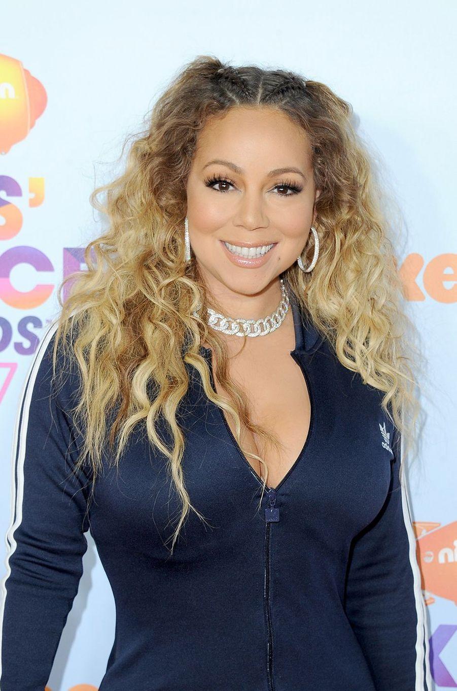 Mariah Carey auxKids' Choice Awards à Los Angeles le 11 mars 2017
