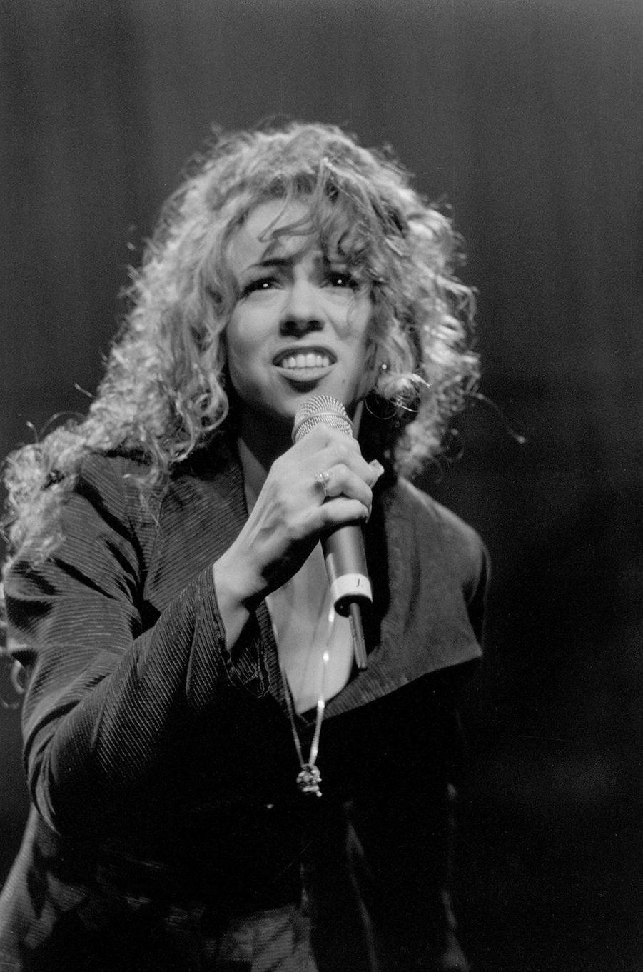 Mariah Carey en 1990