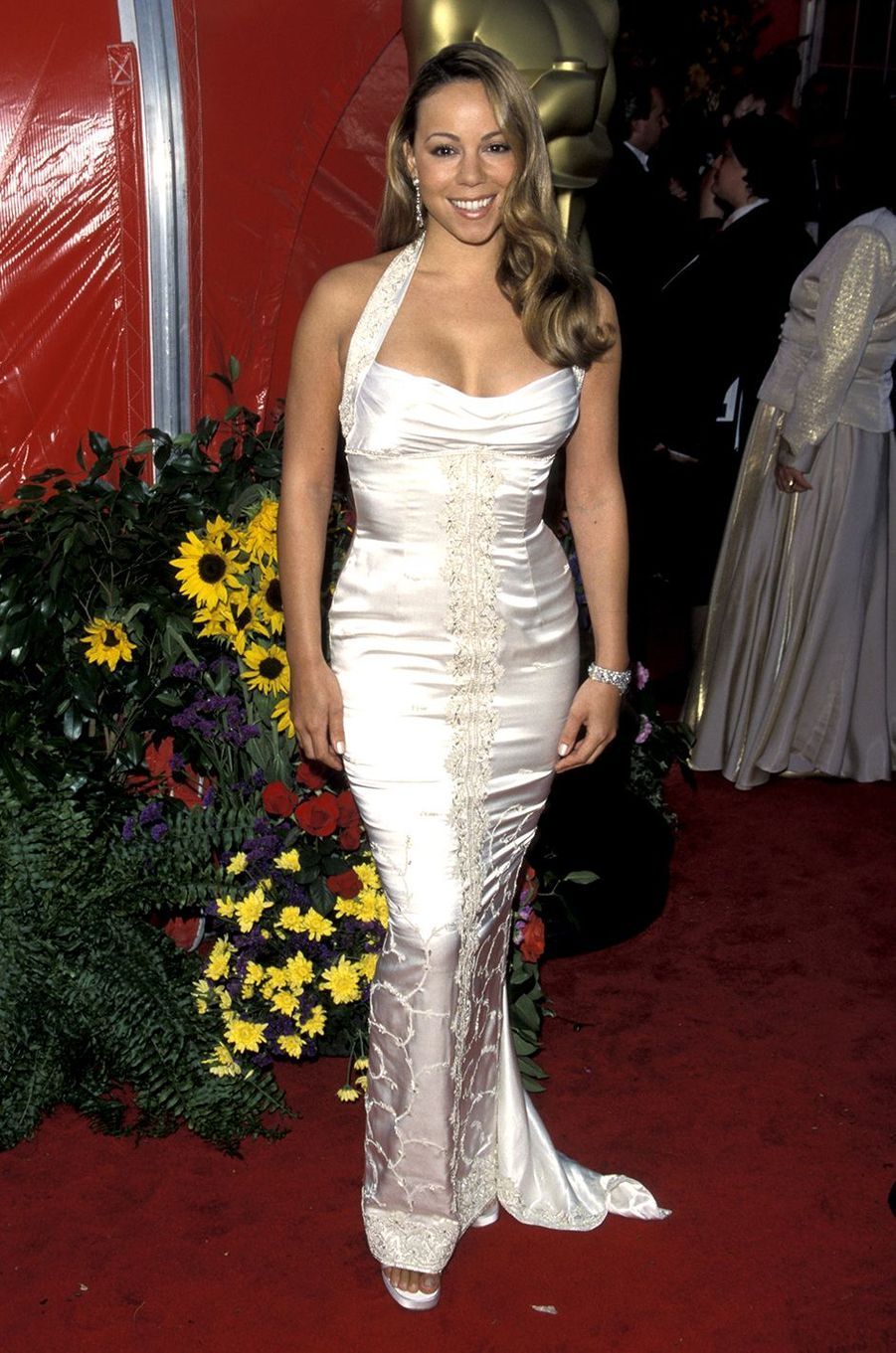 Mariah Carey aux Oscars en mars 1999
