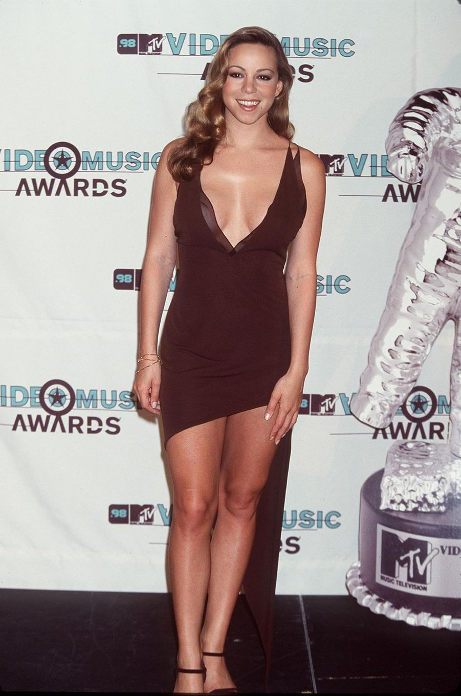 Mariah Carey aux MTV Video Music Awards en 1998