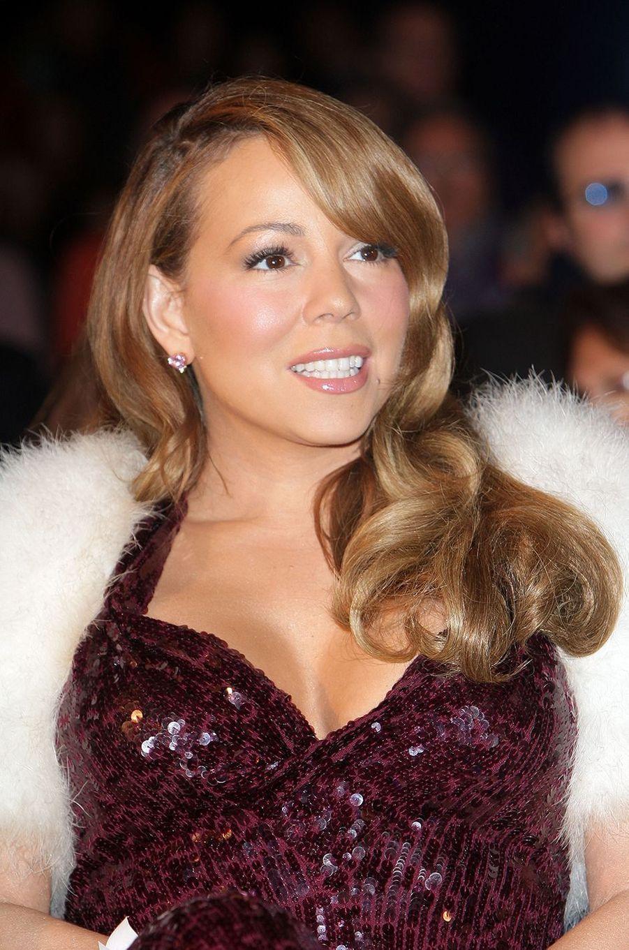 Mariah Carey lors duCapri Hollywood International Film Festival à Capri, Italie, le 28 décembre 2009