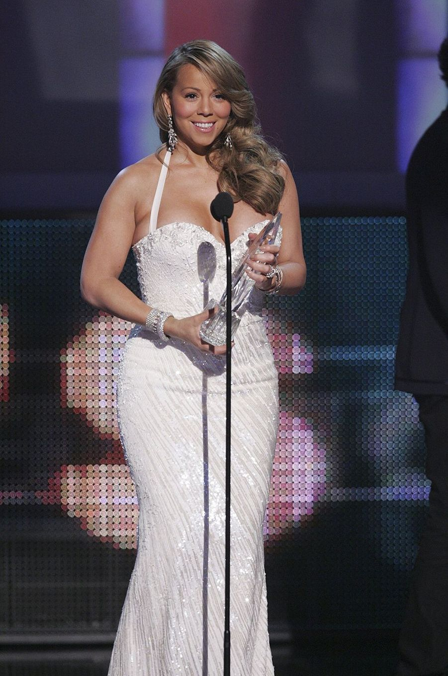 Mariah Carey sacrée lors des People's Choice Awards à Los Angeles le 6 janvier 2010