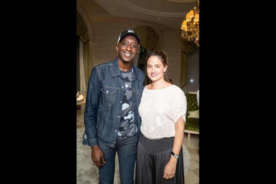 Ahmed Sylla et Marie Gillain.
