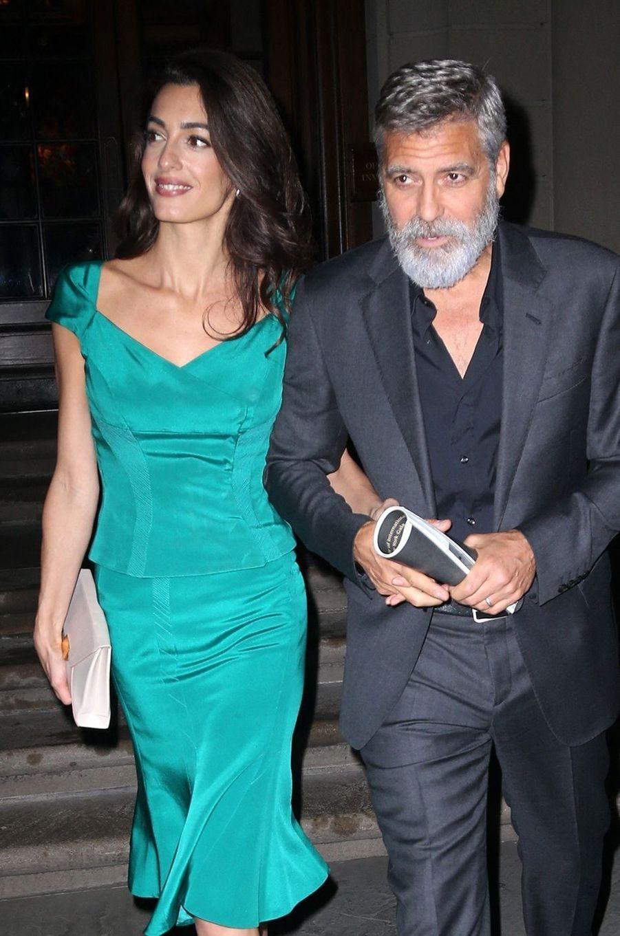 Amal et George Clooney se sont mariés en 2014 après un an de relation