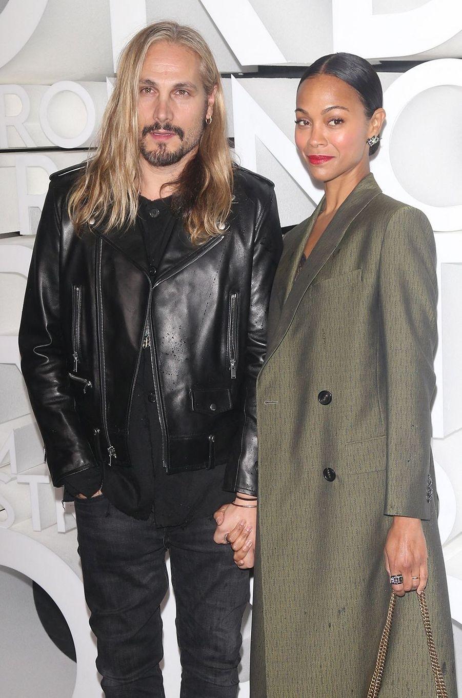 Marco Perego et Zoe Saldana se sont mariés en 2013 après environ trois mois de relation