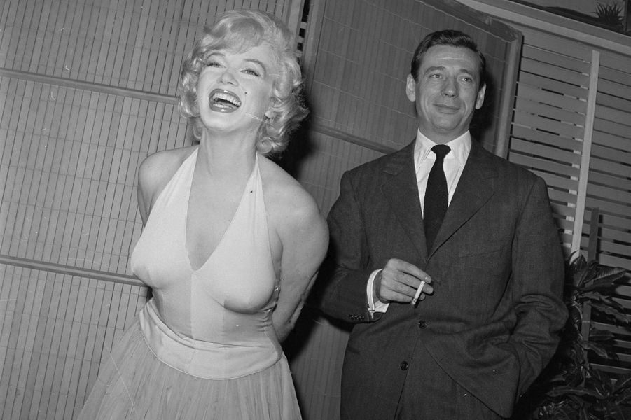Marilyn Monroe et Yves Montand se sont rencontréslorsd'un dîner à New York