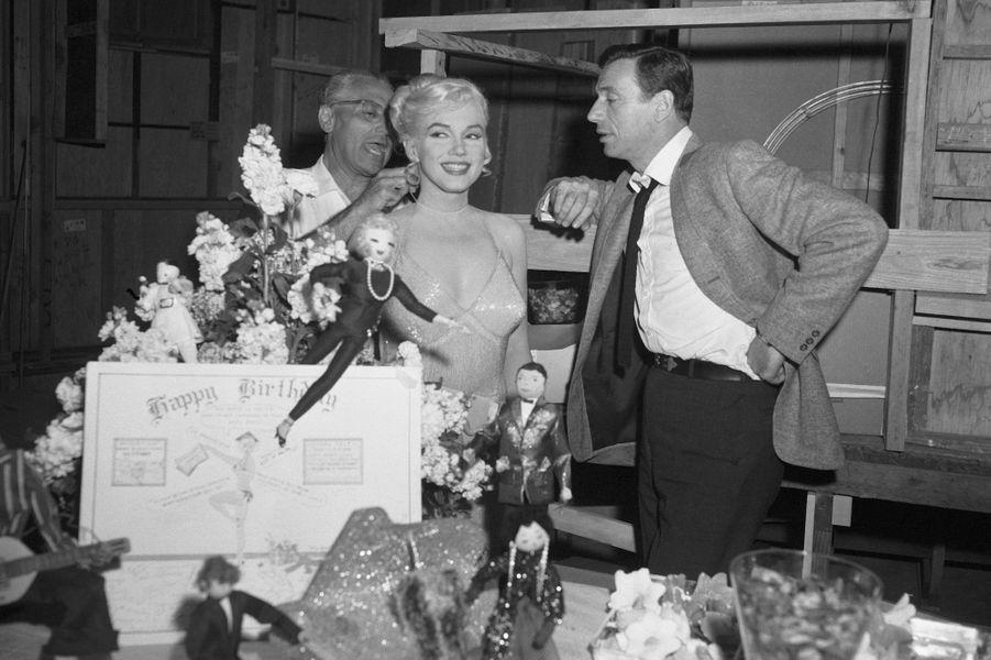 Marilyn Monroe et Yves Montand ont eu une liaison