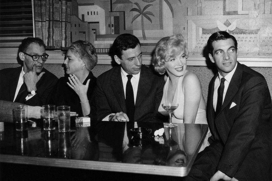 Yves Montand était alors marié à Simone Signoret