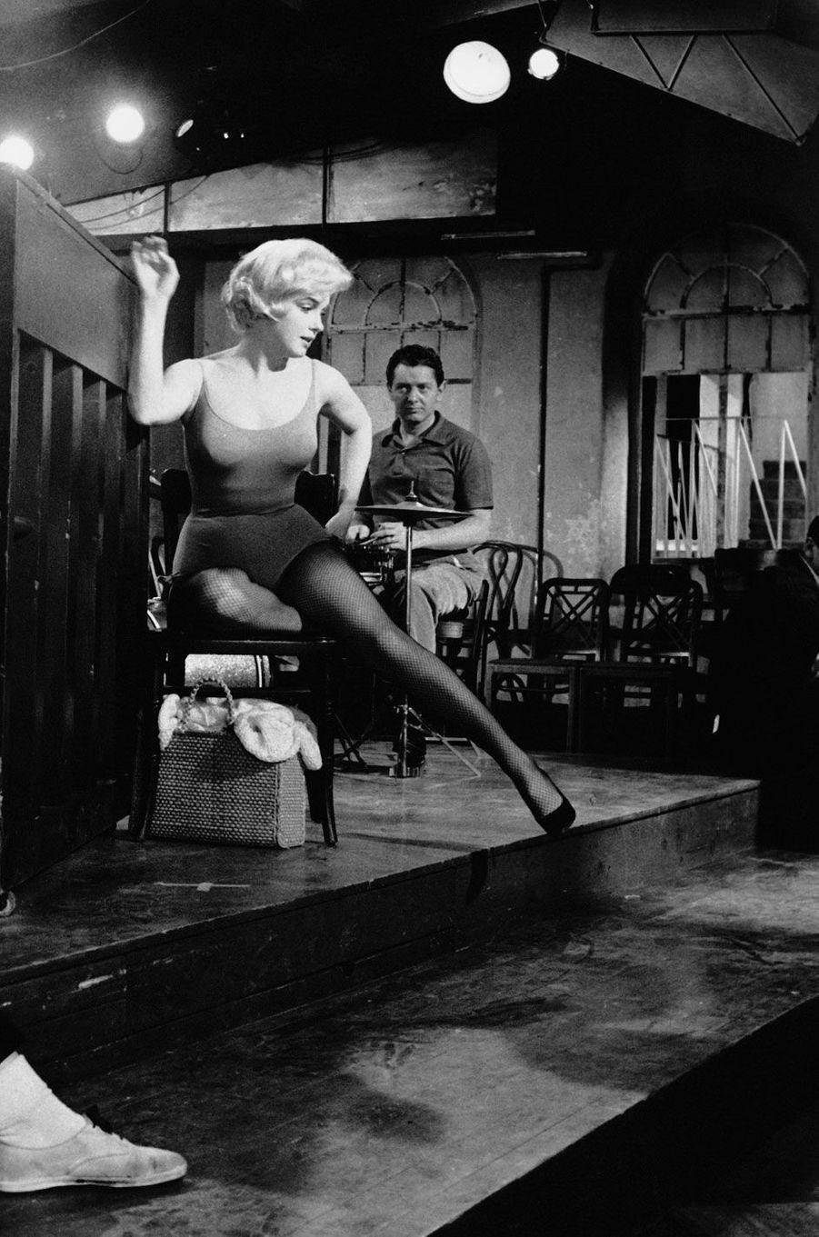 Marilyn Monroe et Yves Montand