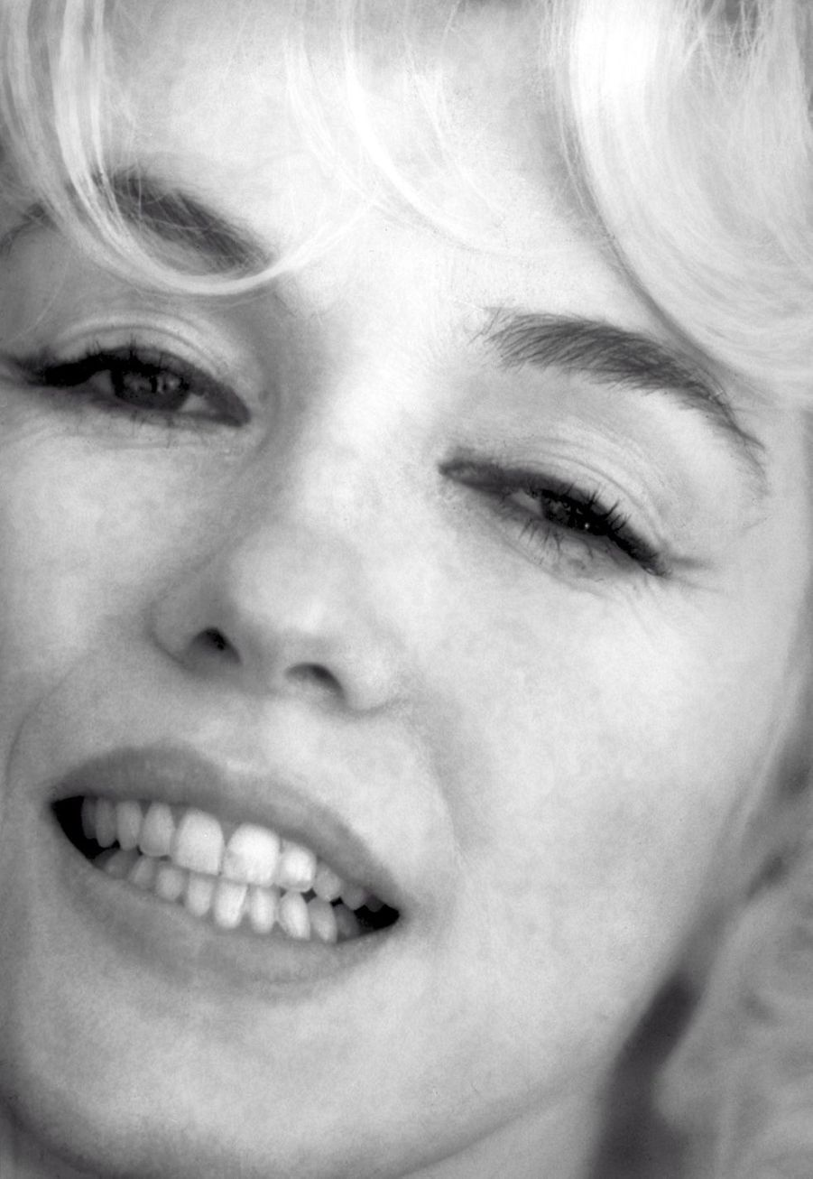 Marilyn Monroe épanouie