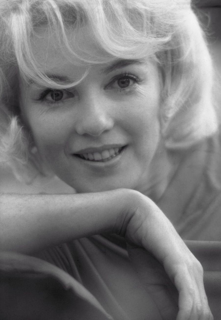 Marilyn Monroe tout sourire