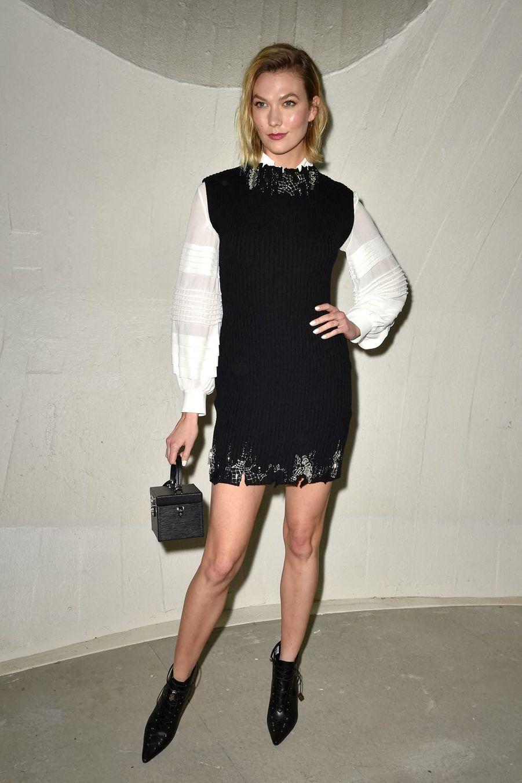Karlie Klossau défilé croisière Louis Vuitton à New York le 8 mai 2019