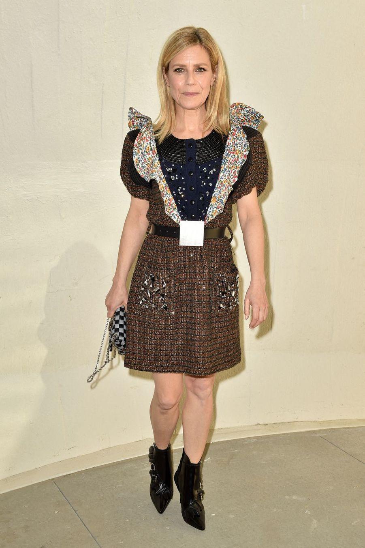 Marina Foïs au défilé croisière Louis Vuitton à New York le 8 mai 2019