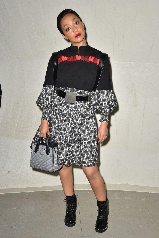 Ruth Neggaau défilé croisière Louis Vuitton à New York le 8 mai 2019