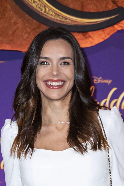 """Marine Lorphelin à la première du film """"Aladdin"""" à Paris, le 8 mai 2019"""