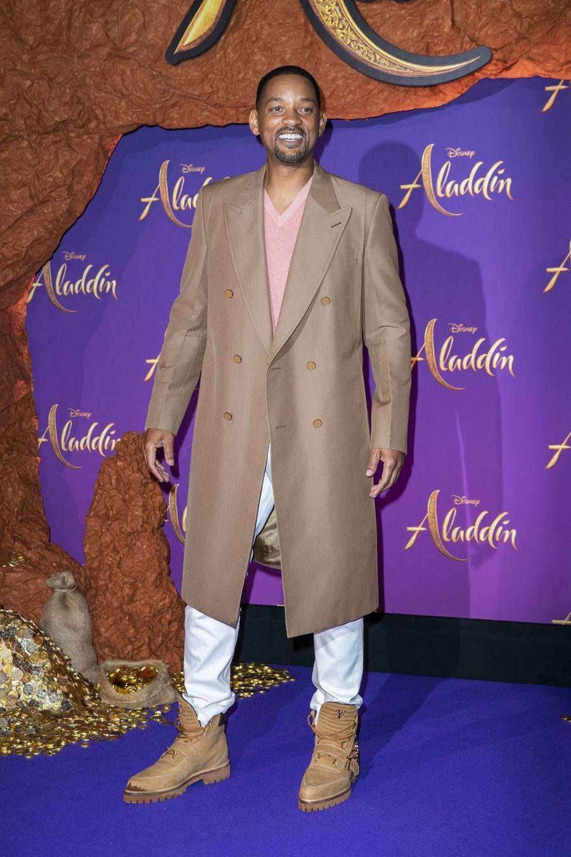 """Will Smithà la première du film """"Aladdin"""" à Paris, le 8 mai 2019"""