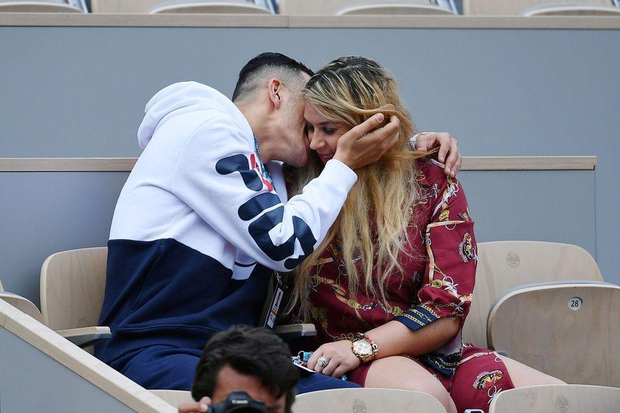 Yahya Boumediene et Marion Bartoli à Roland-Garros le 20 mai 2019