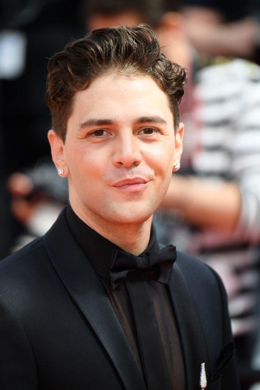 Xavier Dolan lors de la montée des marches du film «Matthias & Maxime» à Cannes le 22 mai 2019