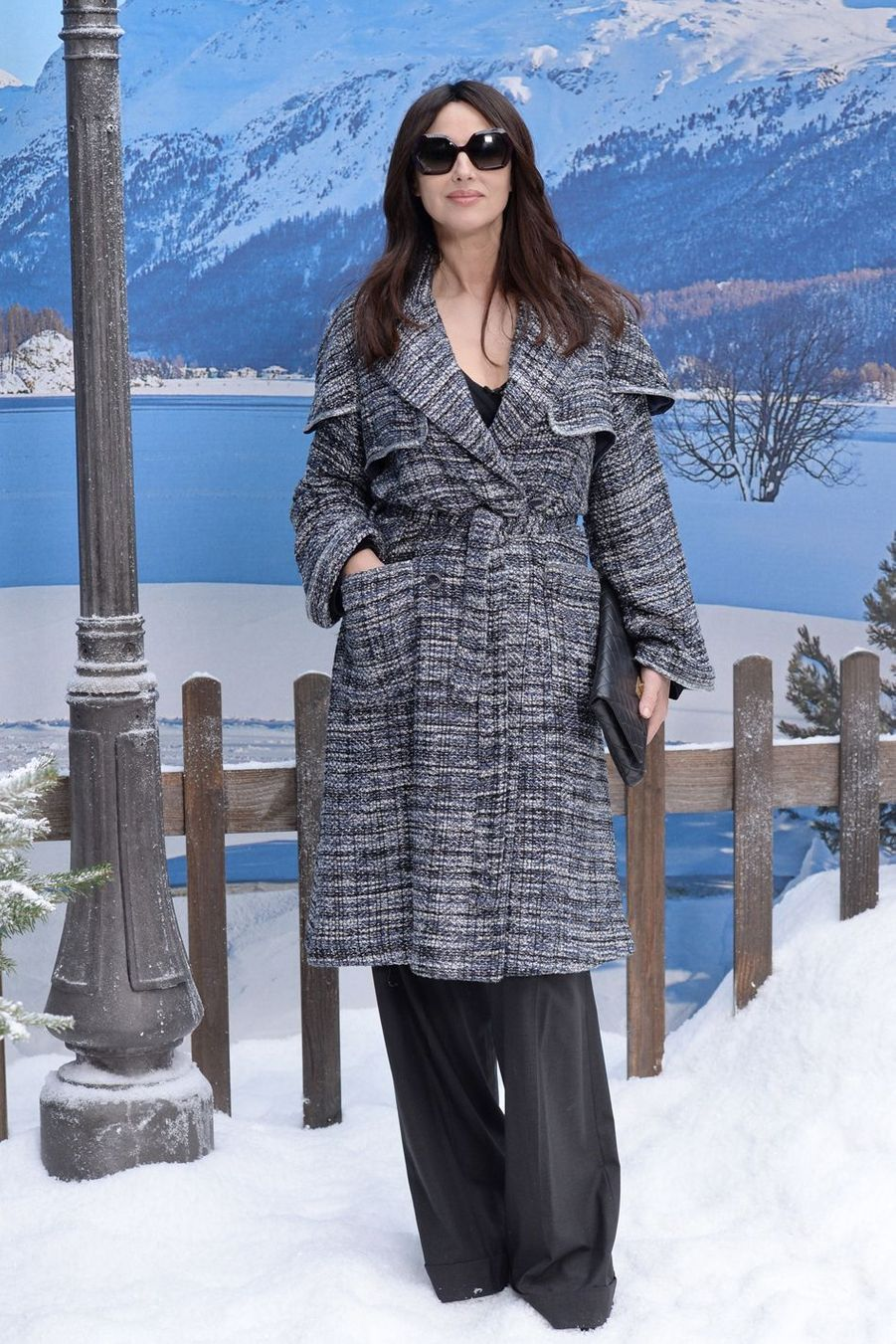 Monica Bellucci au défilé Chanel au Grand Palais à Paris le 5 mars 2019