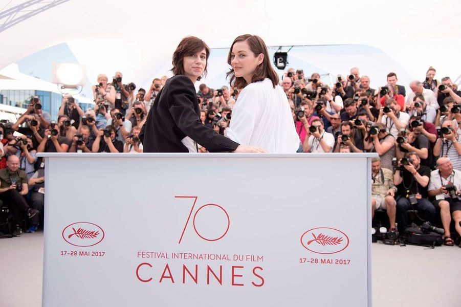 Marion Cotillard etCharlotte Gainsbourg