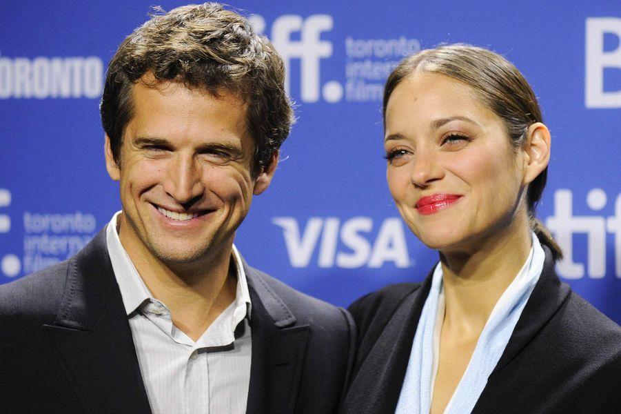 Marion Cotillard et Guillaume Canet en septembre 2013