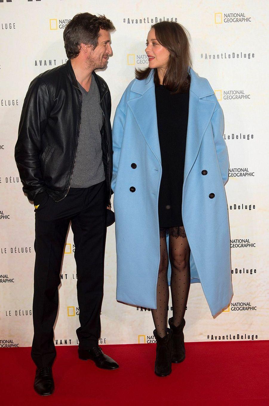 Marion Cotillard et Guillaume Canet en octobre 2016