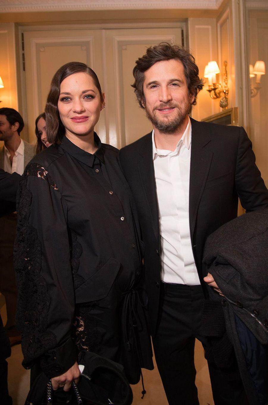 Marion Cotillard et Guillaume Canet en janvier 2017