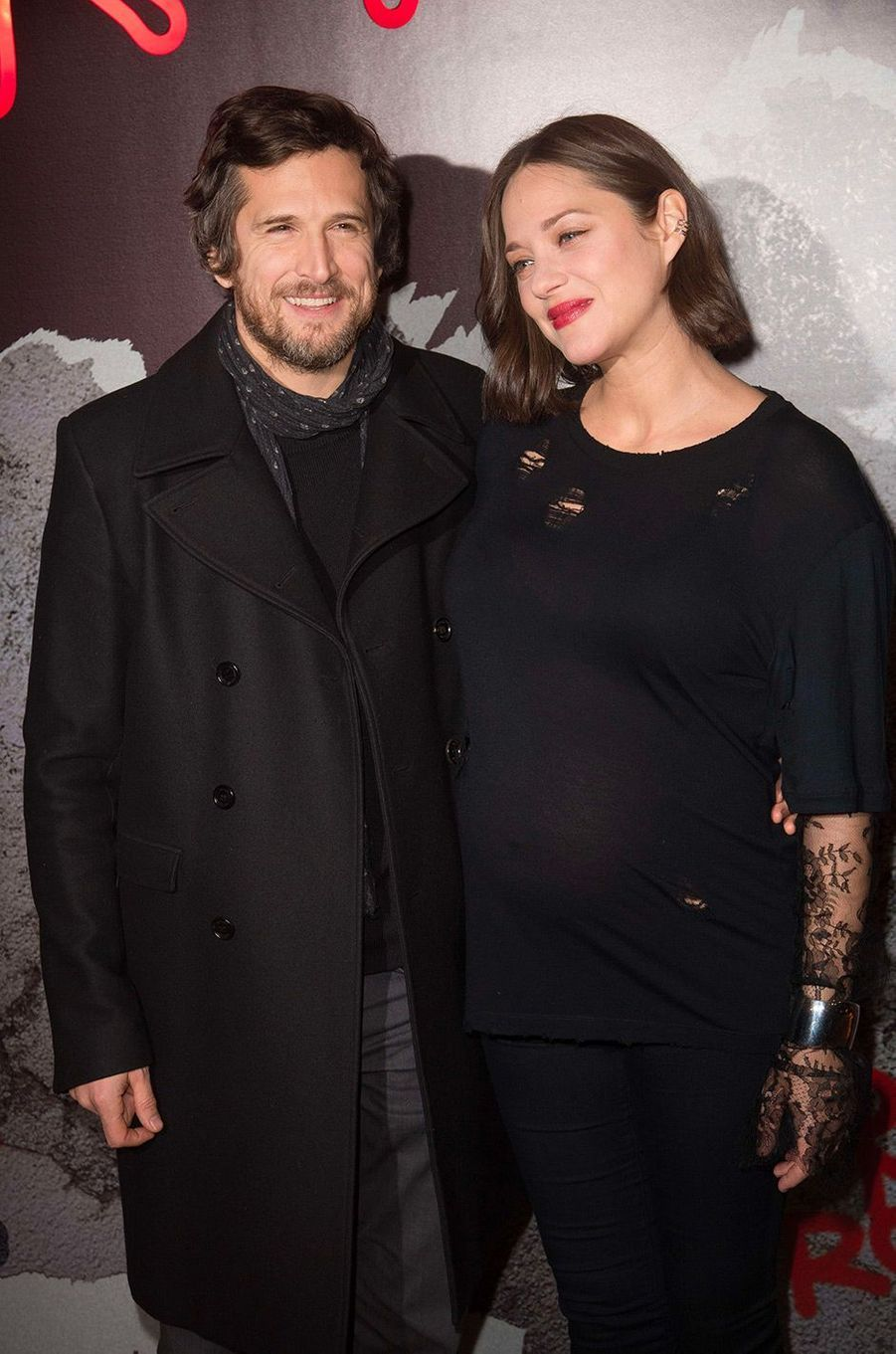 Marion Cotillard et Guillaume Canet en février 2017