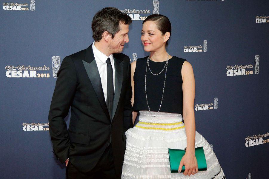 Marion Cotillard et Guillaume Canet en février 2015