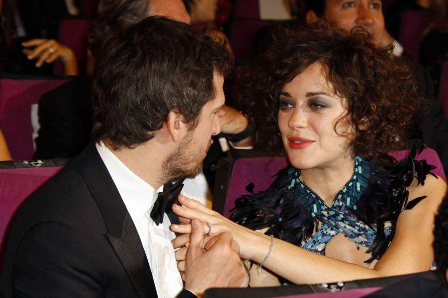 Marion Cotillard et Guillaume Canet en décembre 2010
