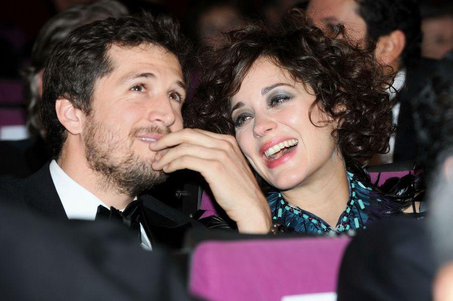 Guillaume Canet et Marion Cotillard à la soirée d'ouverture du 10e Festival international du film de Marrakech en décembre 2010