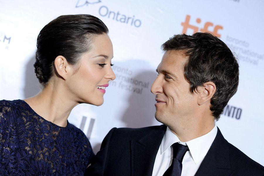 Marion Cotillard et Guillaume Canet au Festival international du film de Toronto en septembre 2013