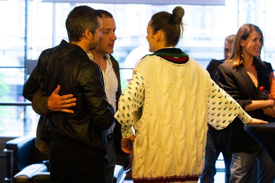 Guillaume Canet, Dany Boon et Marion Cotillard à Bruxelles le 23 avril 2019